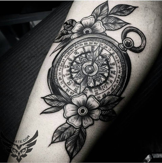 Modele tatuaje busola tattoo compass di toate for Tatoo bussola