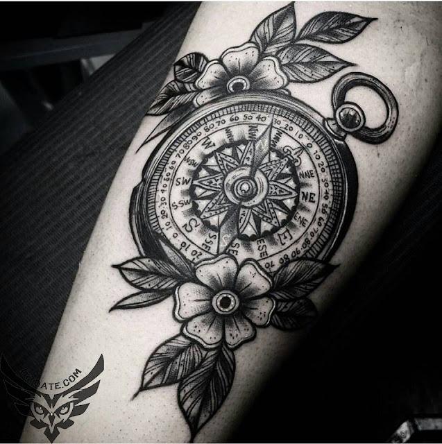 Modele tatuaje busola tattoo compass di toate for Tatoo bussola