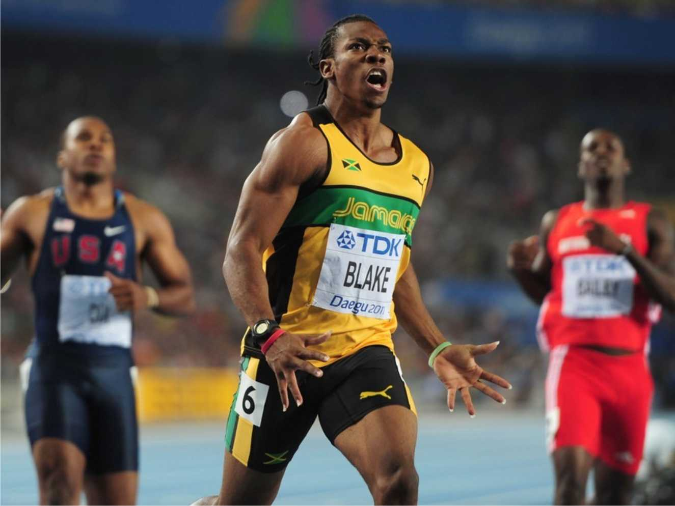 "atleticanews: Yohan Blake declared himself ""fit and ready to run"" at this Rio de Janeiro ..."