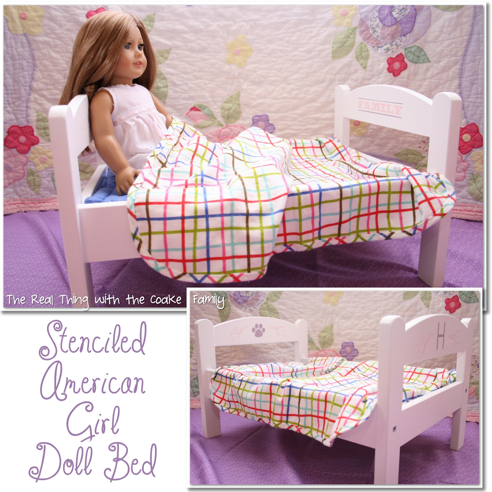 American Girl Doll Craft Make A Personalized Bed For Your Doll