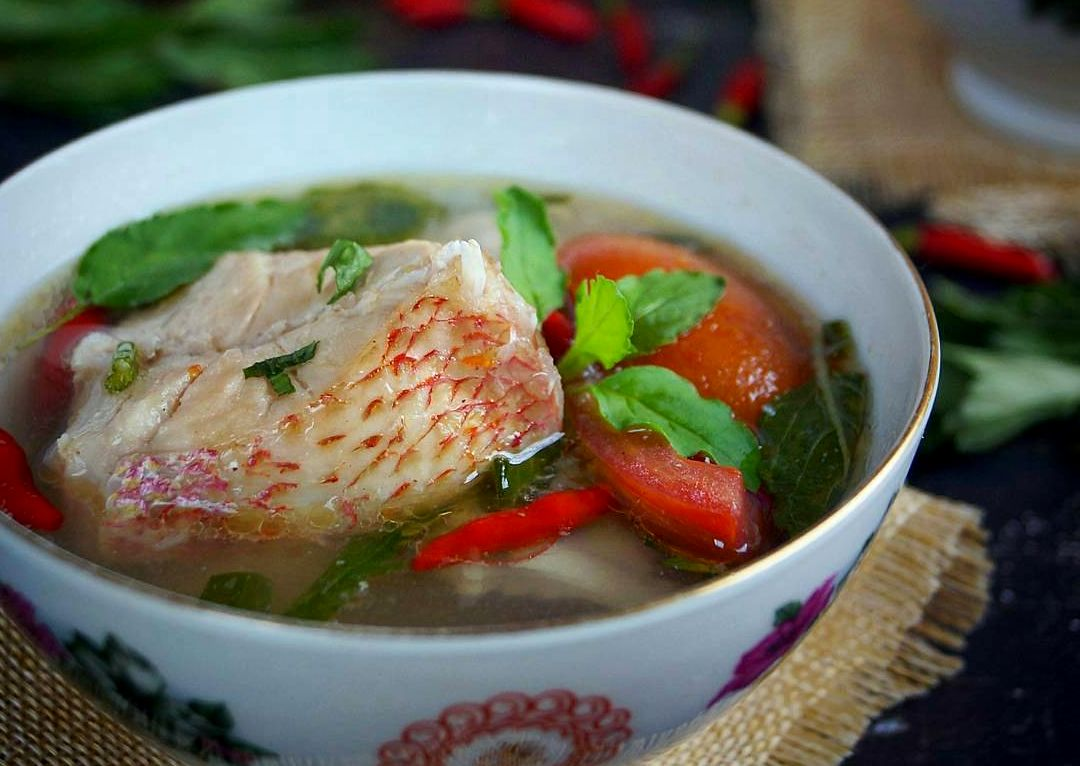 Resep Sup Ikan Kakap (ideresepmasak.com)