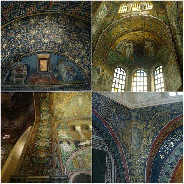 Roteiro completo - 22 dias no norte da Itália, com San Marino - mosaicos em Ravenna