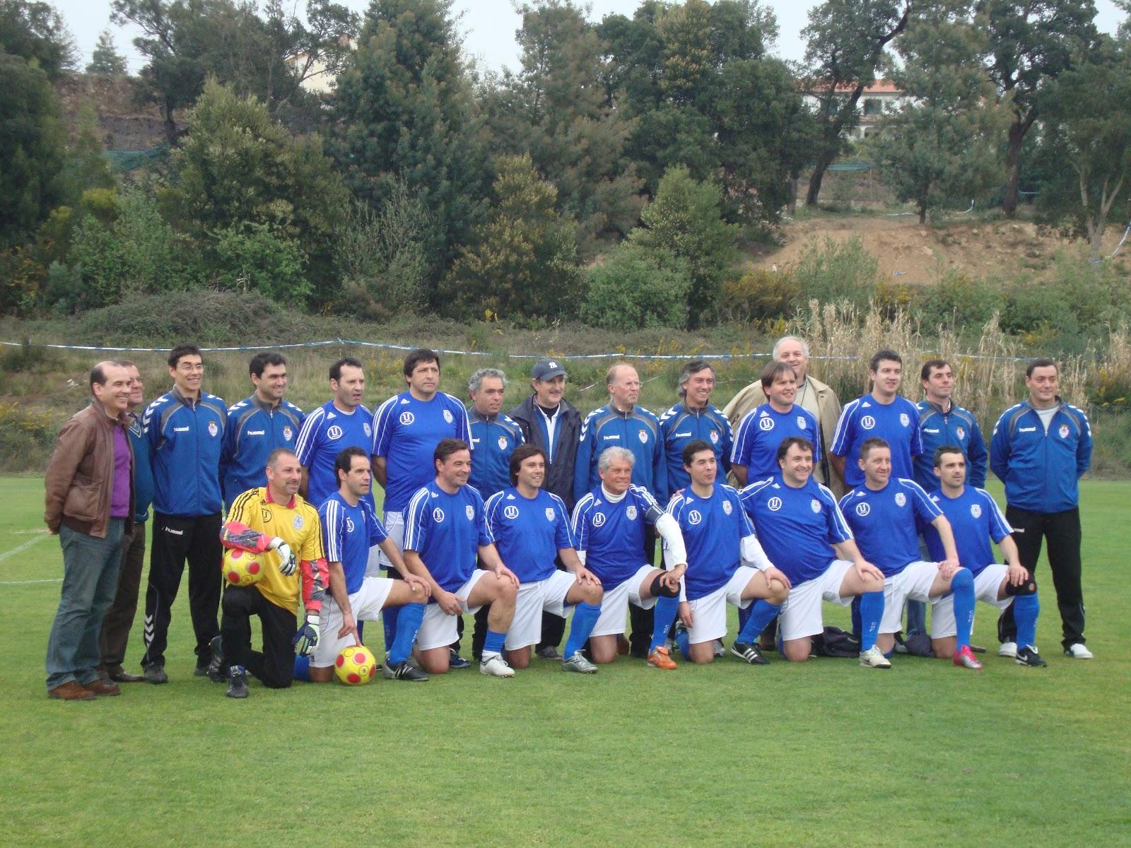 Feirense: Veteranos Do Clube Desportivo Feirense: GRANDE RECEPÇÃO