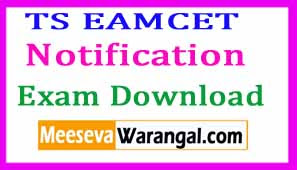 TS EAMCET 2017 Notification Download