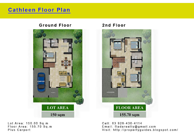Cathleen House Floor Plan
