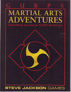 Quag Keep: GURPS - Martial Arts Adventures