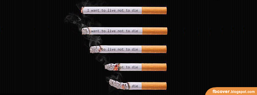 I want to live not to die... FB Cover