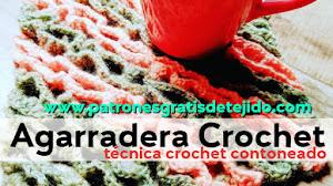 Agarradera de cocina a crochet fácil y divertida / Tutorial Diestros y Zurdos