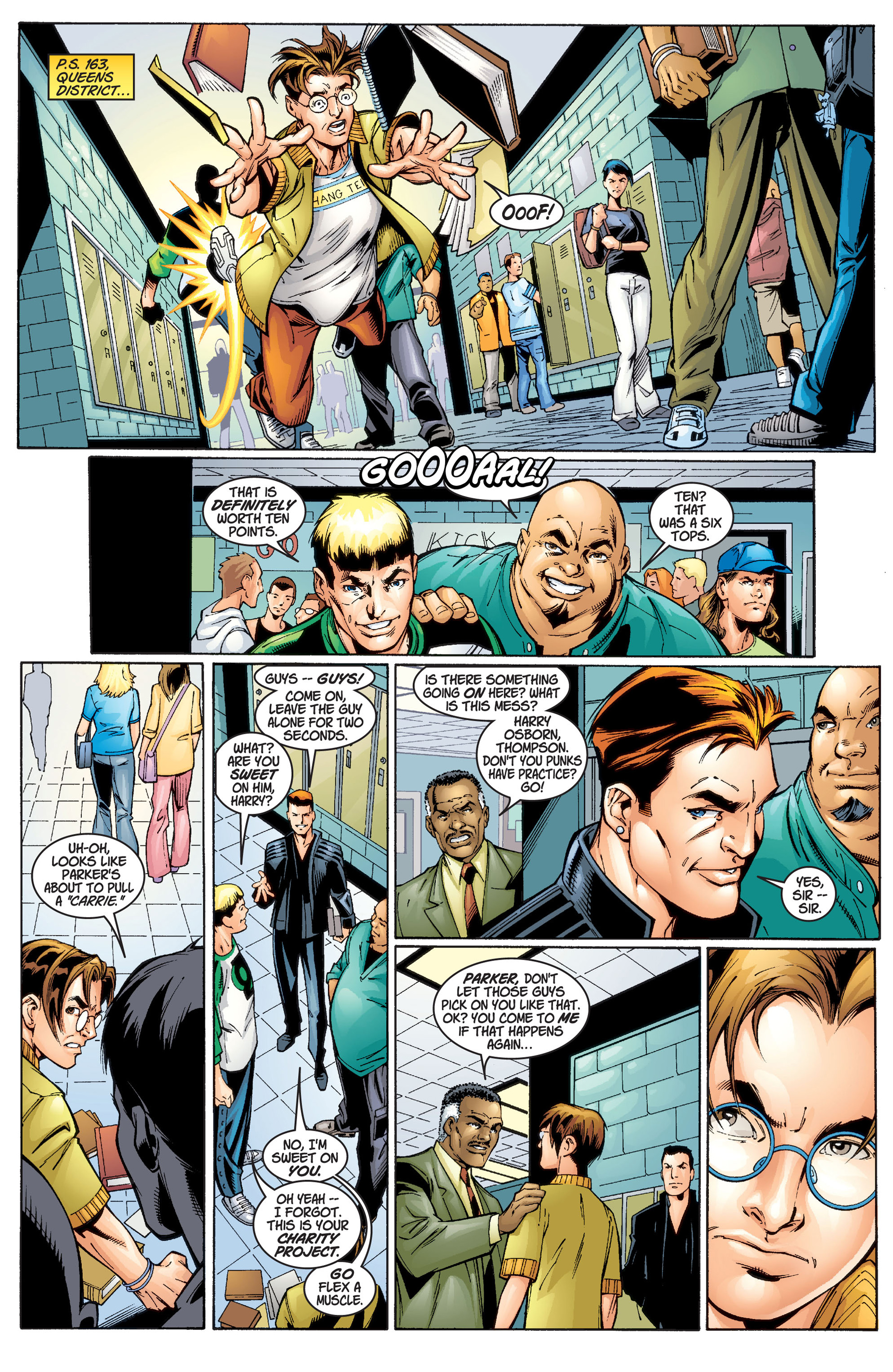 Read online Ultimate Spider-Man (2000) comic -  Issue #1 - 11