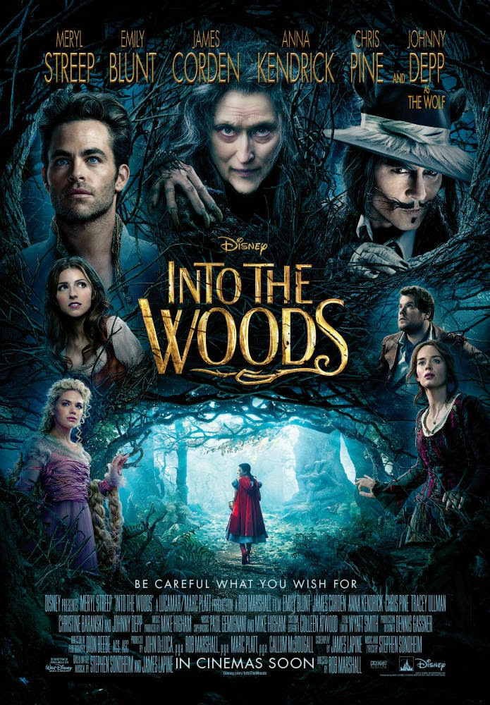 Chris n that: Stage To Screen: INTO THE WOODS
