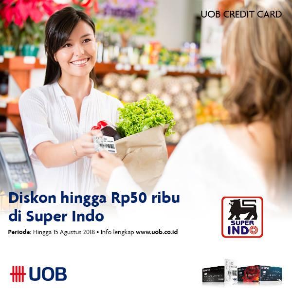 Belanja lebih hemat dengan Kartu Kredit UOB