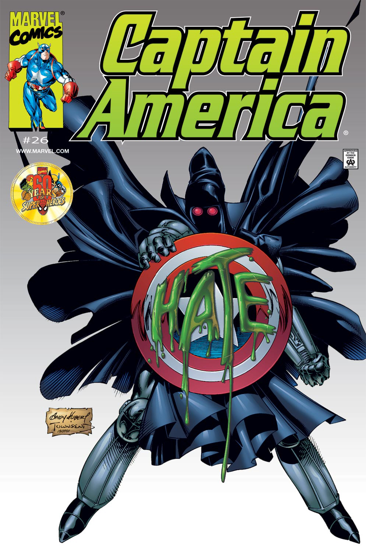 Captain America (1998) Issue #26 #32 - English 1