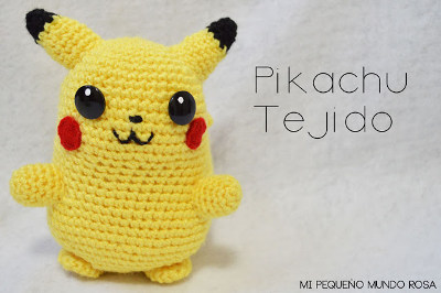 PIKACHU AMIGURUMI POKÉMON CROCHET - TUTORIAL 1/2 - YouTube | 266x400