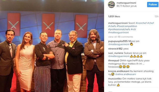 Lisensinya sempat dibeli indosiar iron chef indonesia for Allez cuisine indonesia
