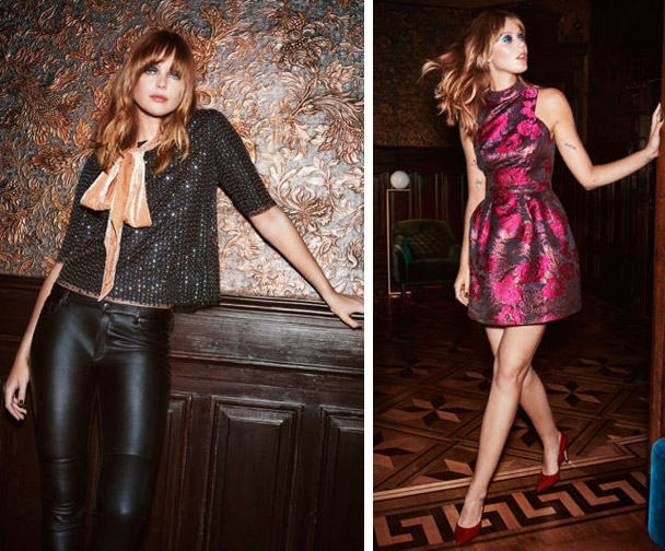 moda fiesta H&M Navidad Fin de Año