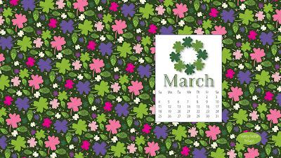 March calendar freebie