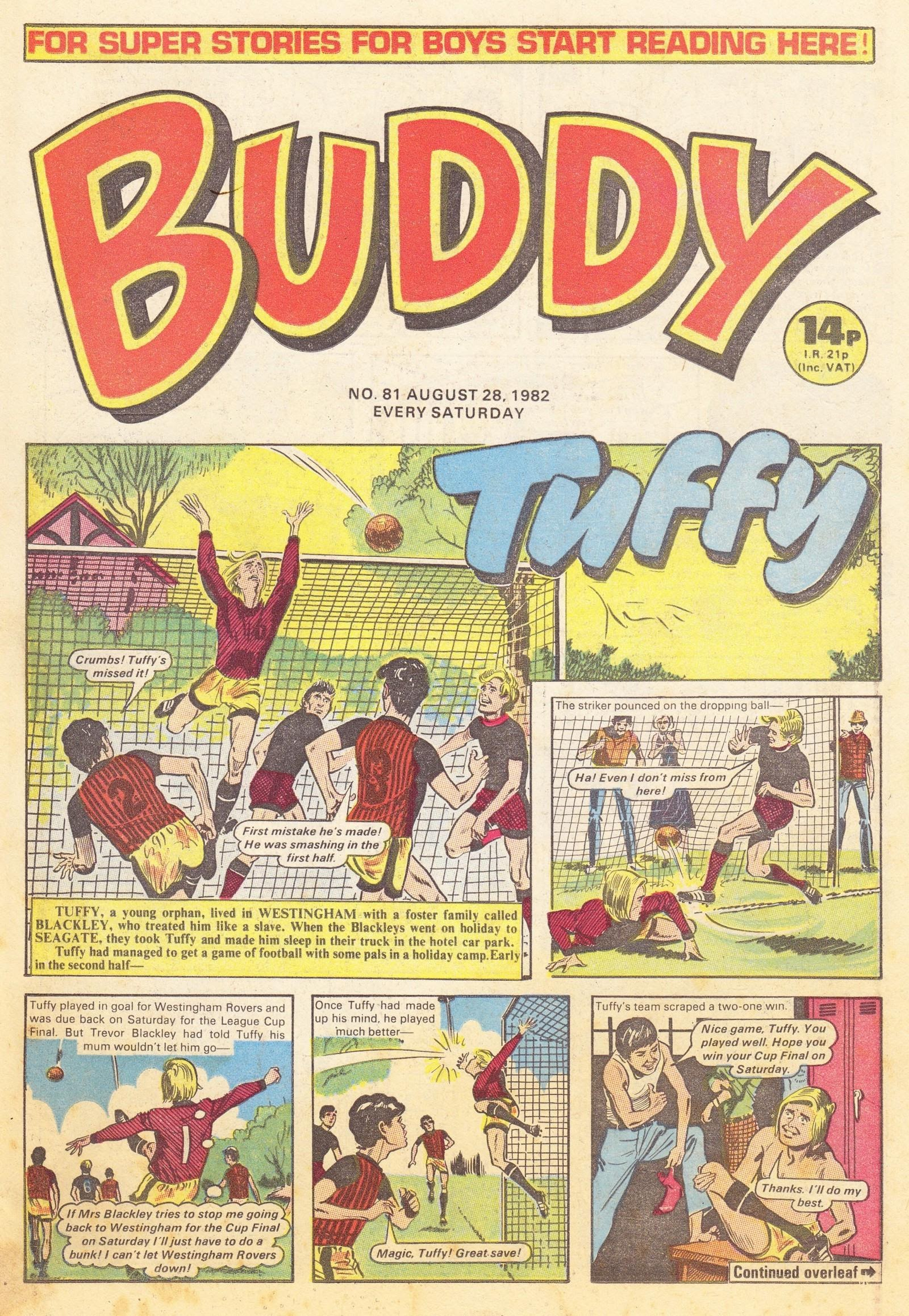 Buddy issue 81 - Page 1