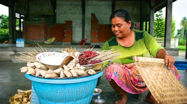 Sate Bulayak Narmada khas Lombok