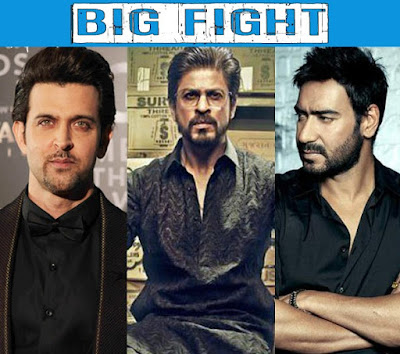 Not just Hrithik's Kaabil, Shah Rukh Khan's Raees to also CLASH with Ajay Devgn's Baadshaho!