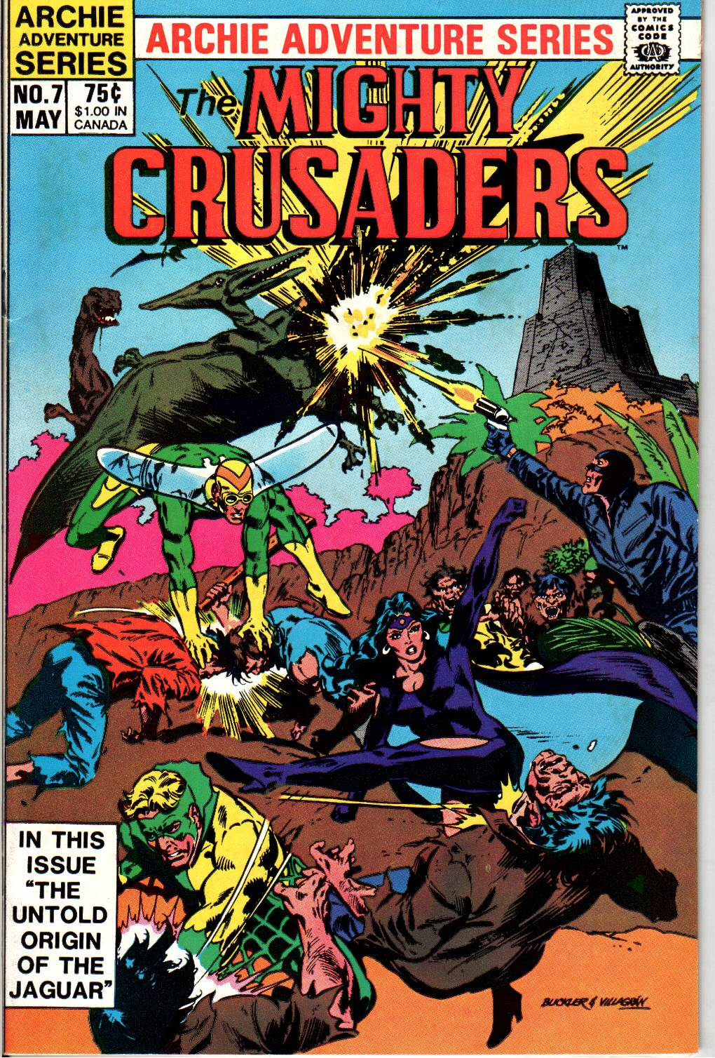 The All New Adventures of the Mighty Crusaders 7 Page 2