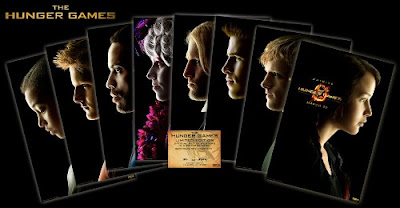 The Hunger Games Characters Poster Set