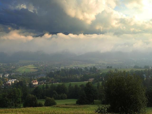 Widoki z Gubałówki (sierpień 2018)