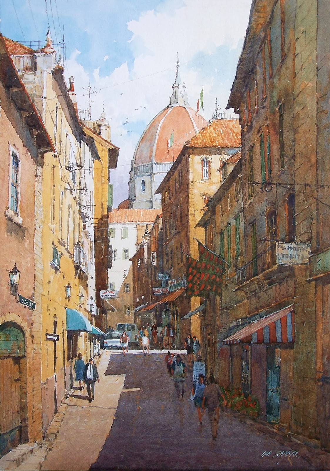 Ian ramsay watercolors i have painted a great deal over for Watercolor painting classes near me