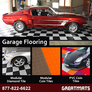 Greatmats Garage Flooring infographic