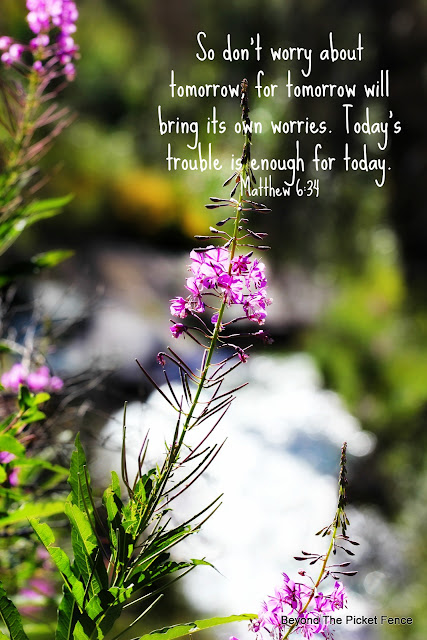 Devotional on Worrying Less