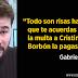 """Gabriel Rufián: """"Todo son risas hasta que te acuerdas de que la multa a Cristina de Borbón la pagas tú"""""""