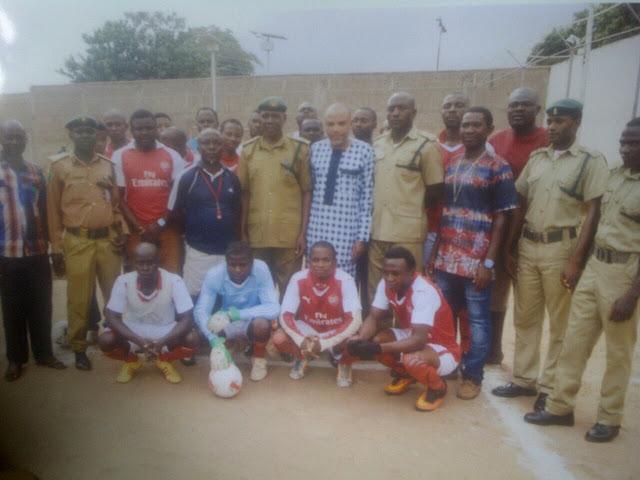Nnamdi Kanu Sponsors Kuje Prison 2016 Championship Football Competition