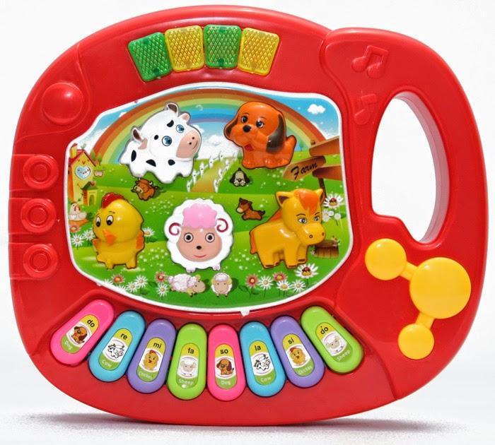 animal piano dengan baterai dapat mengeluarkan aneka musik ceria suara suara aneka binatang nada ceria sangat menarik untuk mainan anak balita