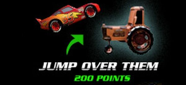 jump over them (200 points)
