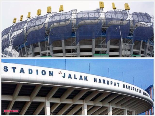 Stadion GBLA dan Si Jalak Harupat