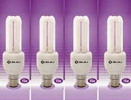Bajaj Ecolux 15 Watts Super Saver CFL (Set of 4) worth Rs.680 for Rs.359 Only @ Paytm