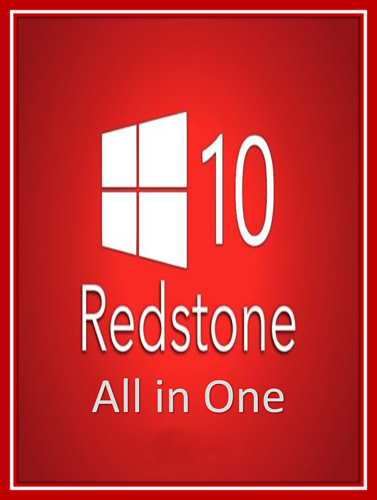 تحميل Windows 10 Redstone AIO