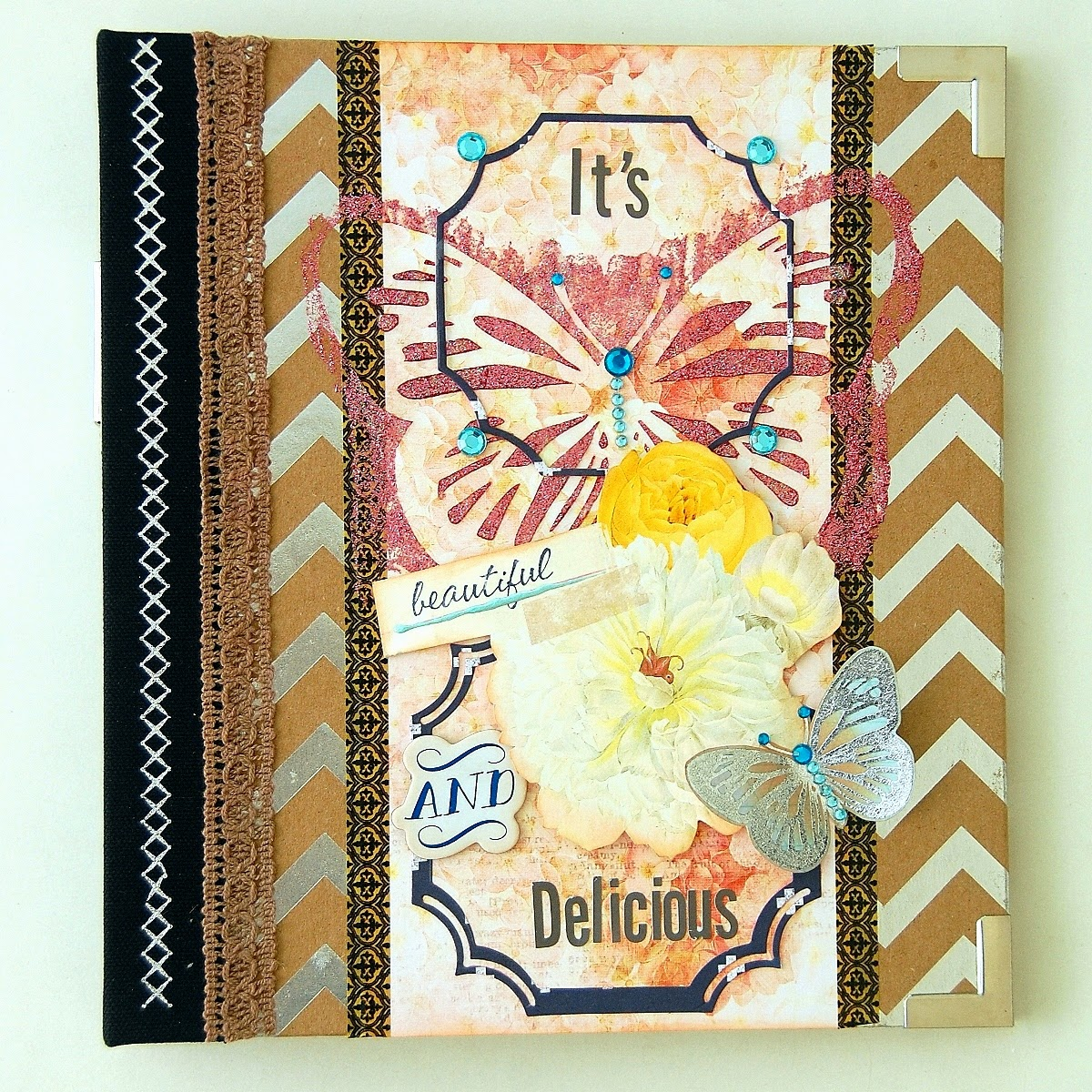 It's Beautiful And Delicious Misc Me Pages by Irene Tan Using BoBunny Sweet Life Collection