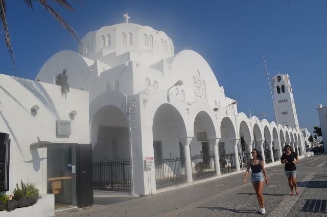 Igreja Ortodoxa grega na cidade de Fira