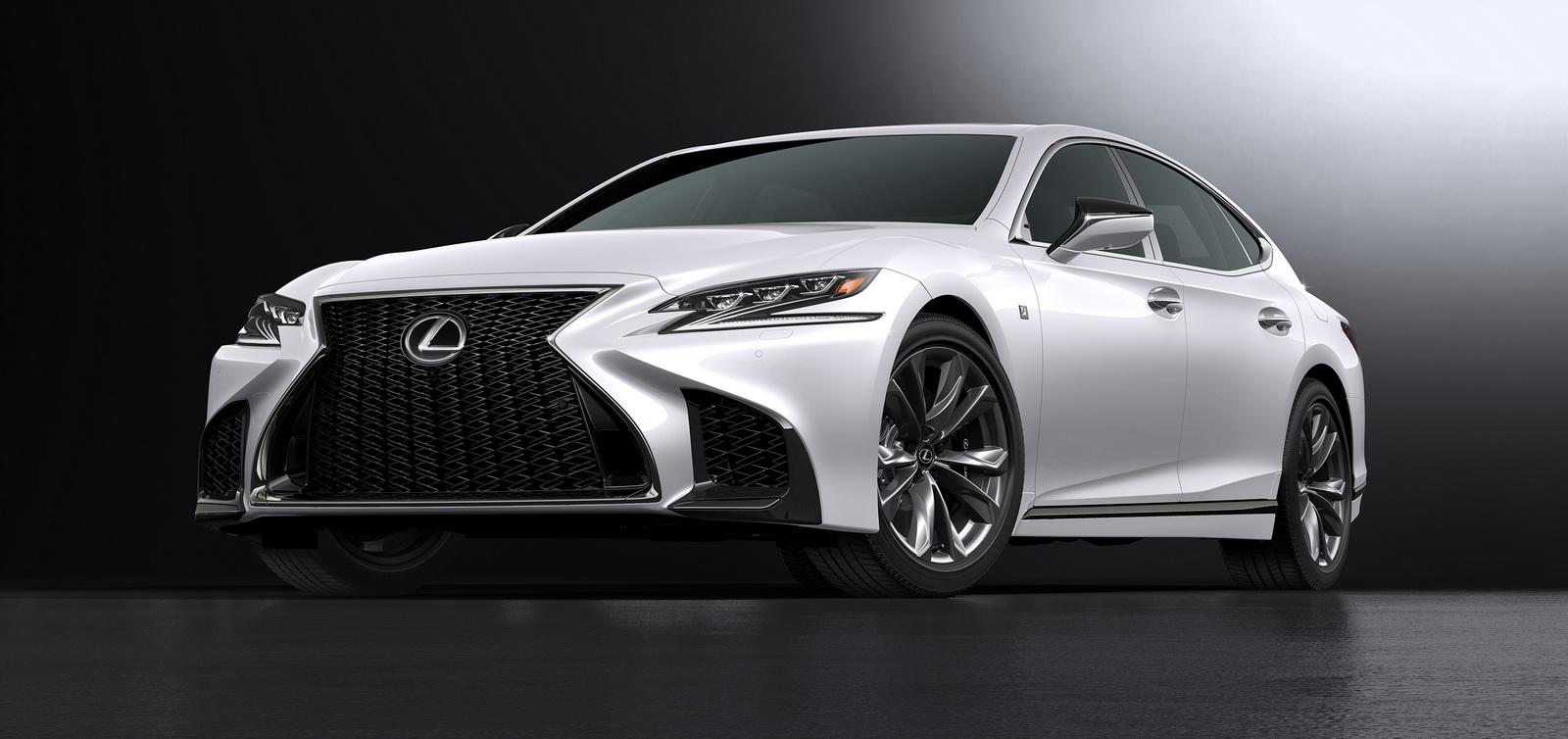 Lexus Reveals New 2018 LS 500 F Sport, Says It's The Most ...