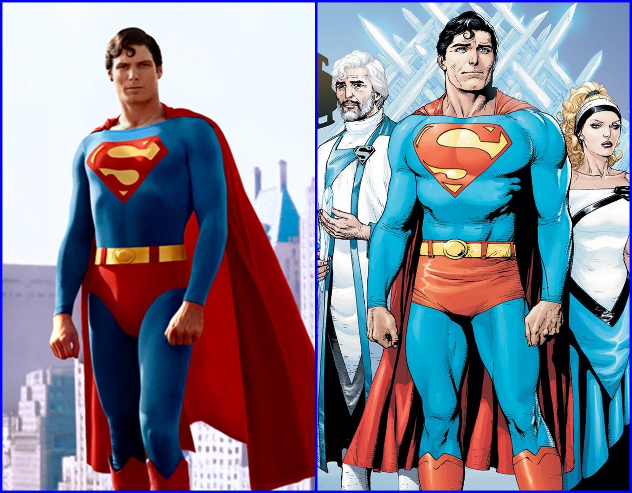 Resultado de imagem para superman christopher reeves gary frank