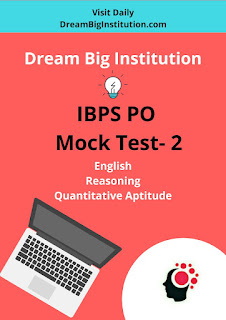 IBPS PO Pre Free Mock Test-2