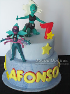 Bolo de aniversário Steven Universe
