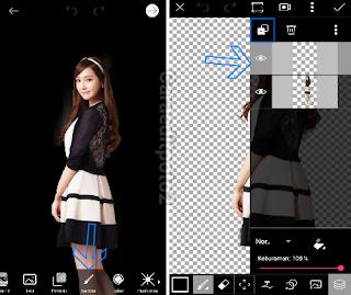 cara edit foto scrapbook 3d di picsart