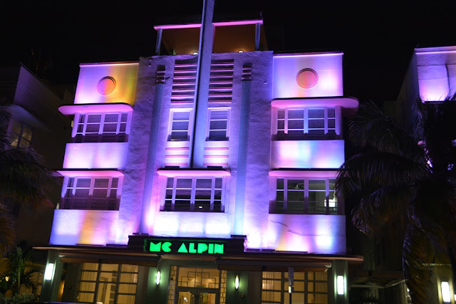 South Beach by Night Mc Alpin