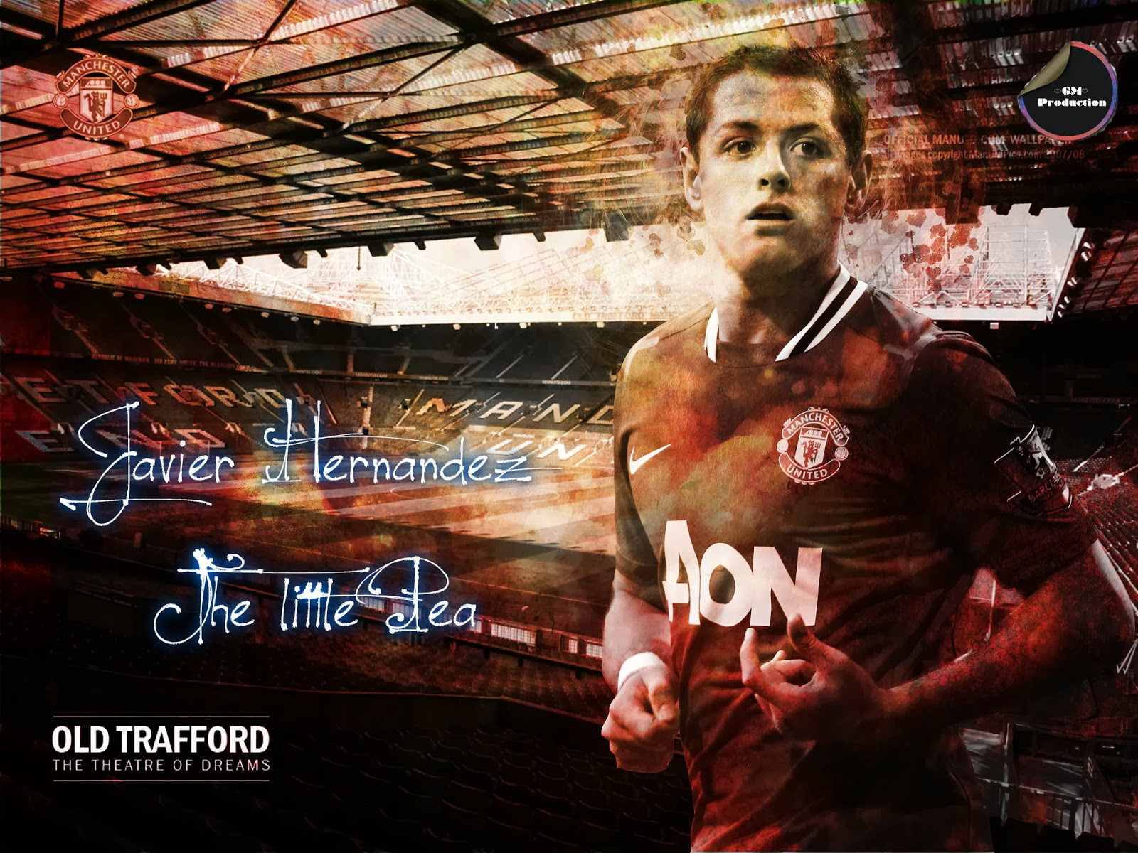 Wallpapers And More...: Javier Hernandez (Chicharto