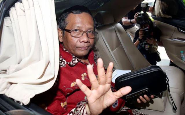 Batal jadi Cawapres Jokowi, Mahfud MD Pulang ke Rumah Sebelum Deklarasi