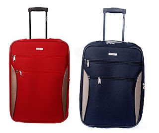 Best Price Offer: Rhysetta Delta Melb Red 20 Cabin Luggage worth Rs.2800 for Rs.1349 Only