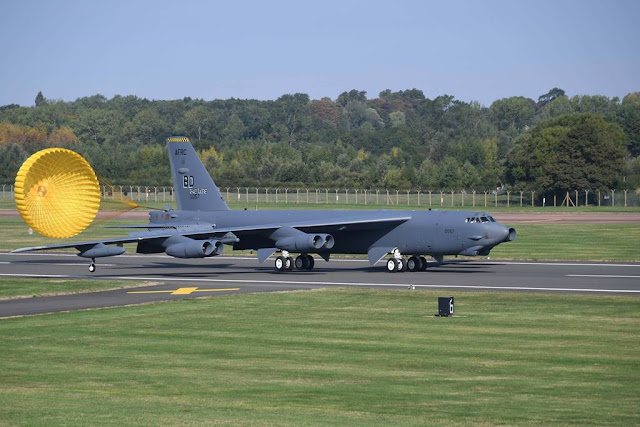 USAF B-52 bombers RAF Fairford