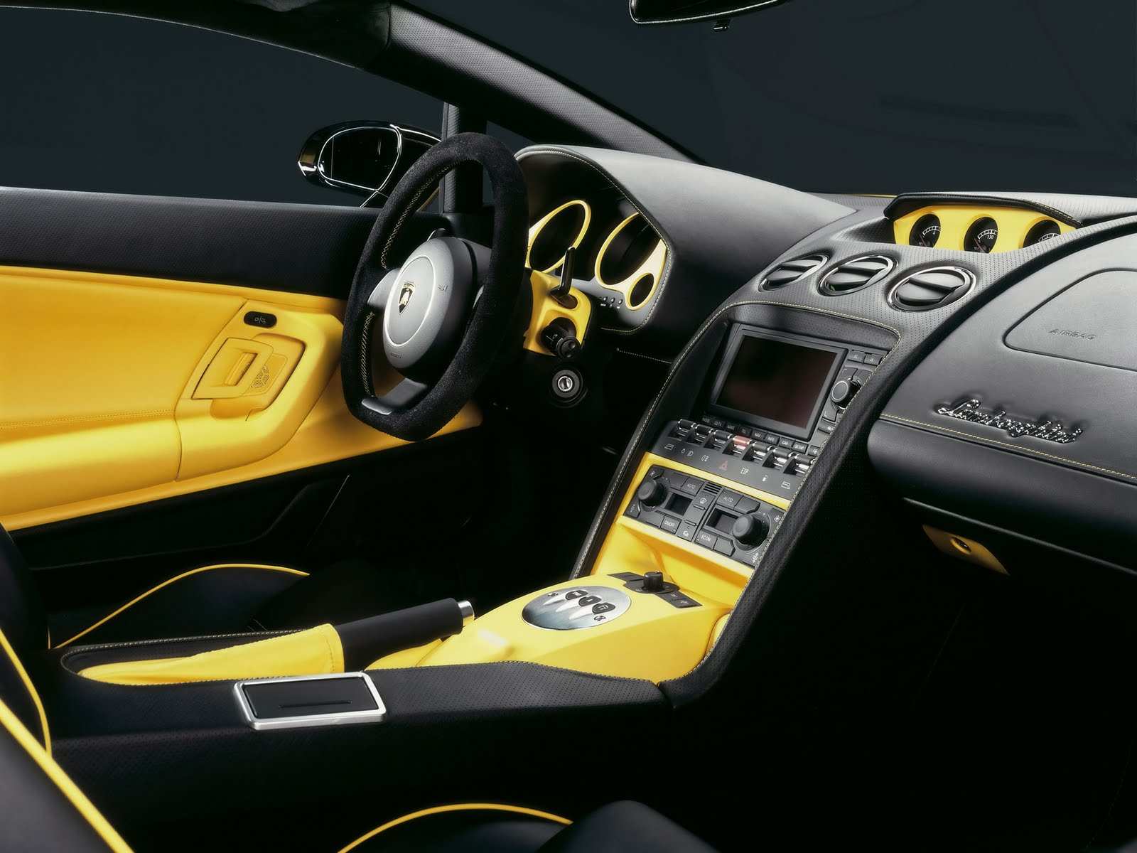 Automotivegeneral Lamborghini Gallardo Interior Wallpapers