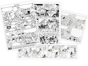 plantilla imprimir y descargar comics en blanco para rellenar lectoescritura